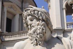 古老罗马雕象 库存照片