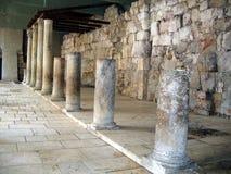 古老罗马Cardo街道。耶路撒冷 免版税库存图片