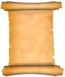 古老羊皮纸滚动 免版税库存照片