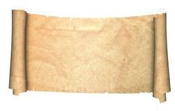 古老羊皮纸 库存图片