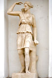 古老美之女神希腊神话雕塑 图库摄影