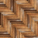 古老美好的木条地板样式 图库摄影