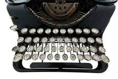 古老老打字机 免版税图库摄影