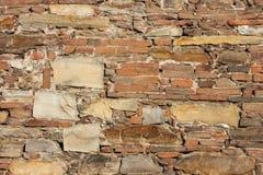 古老背景教会墙壁 免版税库存照片
