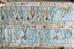 古老色的壁画 免版税图库摄影