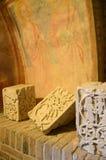 古老艺术性的石头 图库摄影