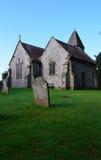 古老英国教会在农村苏克塞斯 免版税库存照片