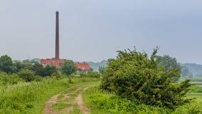 古老荷兰石工厂 库存照片