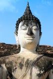 古老菩萨雕塑 库存图片