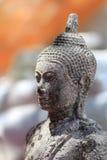 古老菩萨雕象在Nakhonsawan泰国 免版税库存照片