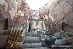 古老菩萨雕象 历史公园sukhothai泰国 库存图片