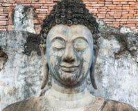 古老菩萨雕象 历史公园sukhothai 图库摄影