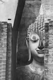 古老菩萨雕象 Sukhothai历史公园, Sukhothai Prov 库存照片