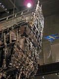 古老著名斯德哥尔摩脉管船 库存图片