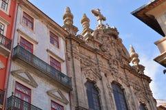 古老葡萄牙教会 免版税库存照片