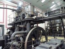 古老蒸汽机器 免版税库存照片