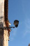 古老街灯在罗马 库存照片
