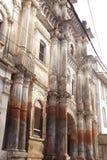 古老被放弃的寺庙 免版税库存图片