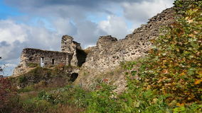 古老被毁坏的堡垒 彼得斯堡 俄国 Koporye 影视素材