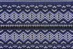 古老被编织的布料 免版税图库摄影