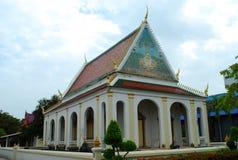 古老被兴建的寺庙 库存照片