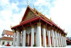 古老被兴建的寺庙 免版税库存照片