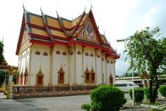 古老被兴建的寺庙 库存图片