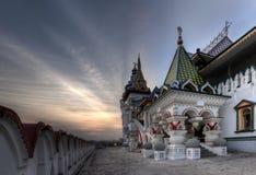 古老装饰在莫斯科,俄罗斯 库存照片
