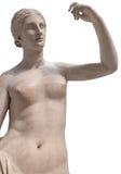 古老裸体雕象金星 免版税库存图片