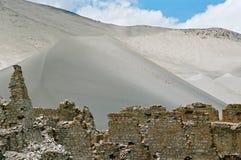古老西藏人废墟 免版税库存照片