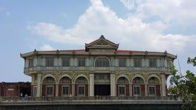 古老议院/建筑学在亚洲 免版税库存图片