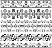 古老设计希腊装饰品集 免版税图库摄影
