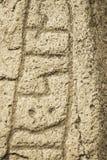 古老诗歌石头 图库摄影