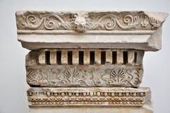 古老详细资料希腊替补 库存照片