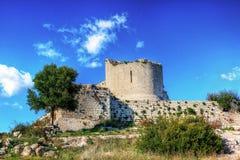 古老诺托废墟在西西里岛 免版税库存照片