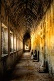 古老走廊 库存照片