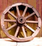 古老轮子 免版税库存图片