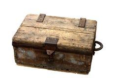 古老配件箱 库存照片