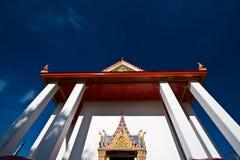 古老酸值kret nonthaburi寺庙 免版税库存照片