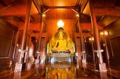 古老金黄Buddhas 免版税库存图片