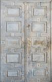 古老门拜占庭人建筑学 免版税库存图片