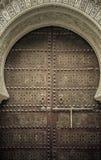 古老门,摩洛哥 图库摄影