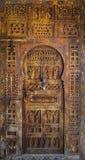 古老门,摩洛哥 免版税库存图片