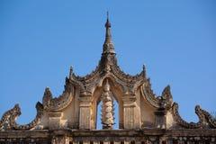 古老阿南达寺庙, Bagan缅甸 库存照片