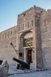 古老阿拉伯堡垒, Fahidi堡垒 图库摄影
