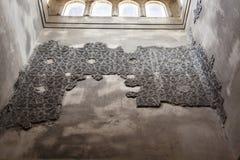 古老阿拉伯hammam在西班牙 免版税图库摄影