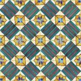 古老陶瓷砖 免版税库存图片