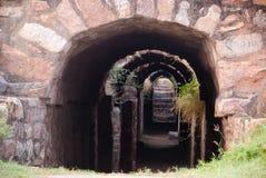 古老隧道 库存图片