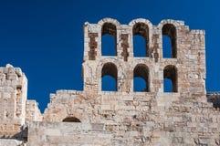 古老雅典希腊 库存照片