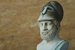 古老雅典政治家Pericles雕象  免版税库存图片